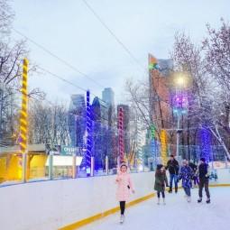«City каток» в парке «Красная Пресня» 2020-2021