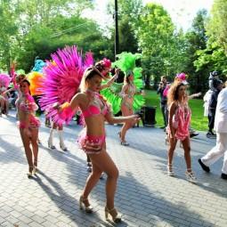 Бразильский карнавал в Измайловском парке 2018