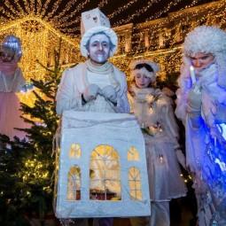 Рождество в парках Москвы 2018