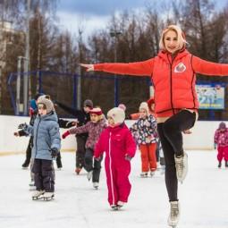 Открытие зимнего сезона в Гончаровском парке 2016