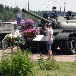 День танкистов в музейном комплексе «История танка Т-34» 2016