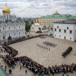 Развод конных и пеших караулов Президентского полка 2019