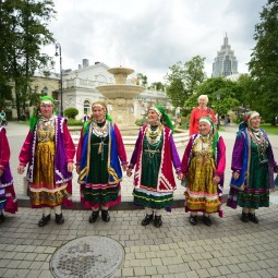 Национальный удмуртский праздник «Гербер» 2018