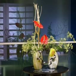 Выставка «Мимолётная красота природы в композициях икебана. Зима»
