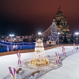 Фестиваль зимних развлечений в парке «Патриот» 2020/2021