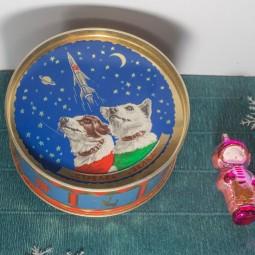 Выставка раритетных новогодних игрушек в Планетарии