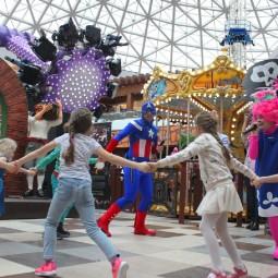 Развлечения и праздники в крытом парке аттракционов «Happylon» в ТРК VEGAS