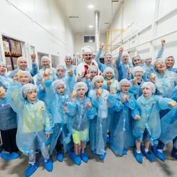 Экскурсия на фабрику мороженого «Чистая линия»