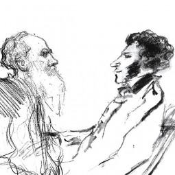 Выставка «Он мой отец». Толстой о Пушкине»