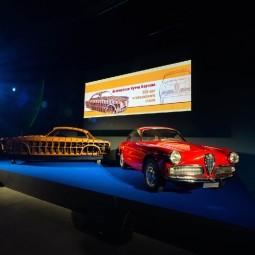 Выставка «100 лет итальянского стиля. Автомобили Нуччо Бертоне»