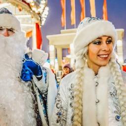 Предновогодние программы в парках Москвы 2019