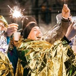 Новогодняя ночь в Саду имени Баумана 2017