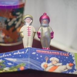 Выставка новогодней игрушки в музее Урании