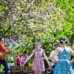 Открытие летнего сезона в парках Москвы 2019
