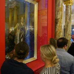 Выставка «Портрет Екатерины Великой с георгиевской лентой»