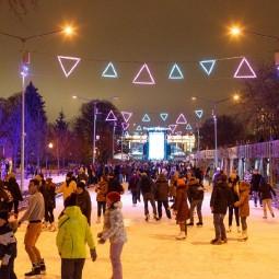 Стрит-арт Каток в Парке Горького 2016