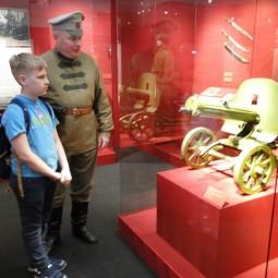 Выставка «Слава российского оружия»