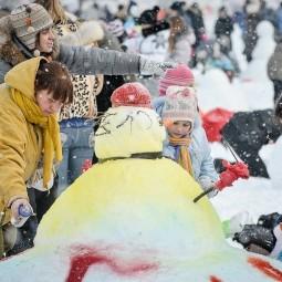 Арт-битва снеговиков 2017