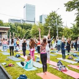 Международный день йоги 2018