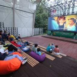 Летний кинотеатр в парке «Фили» 2021