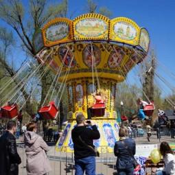Открытие сезона парков аттракционов «Карусель» 2019