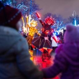 Открытие зимнего сезона в Воронцовском парке 2016