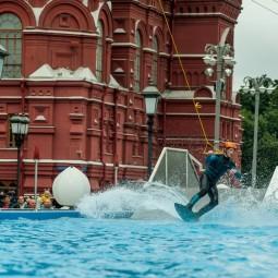 Открытие вейк-парка в центре Москвы 2017