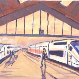 Выставка «Транспорт в искусстве. Я так вижу»
