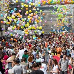 День города Москвы на Тверской улице 2016
