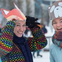 Благотворительный день в Городе зимы на ВДНХ 2019