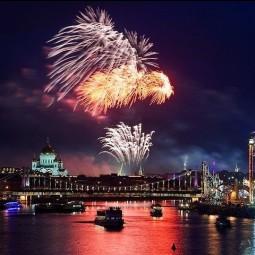 Салют на День города Москвы 2015