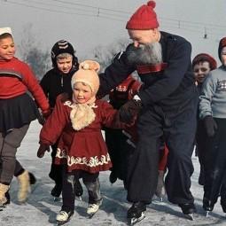 Костюмированная вечеринка на катке Парка Горького 2017