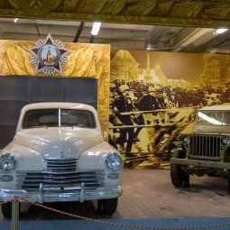 Выставка «Моторы войны»