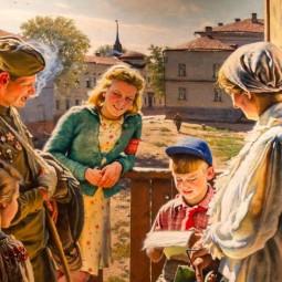 Выставка «Память поколений: Великая Отечественная война в изобразительном искусстве»