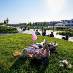 Открытие летнего сезона в Парке Горького 2017