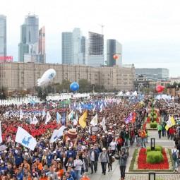 Парад российского студенчества 2016