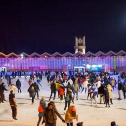 Открытие зимнего сезона в парке «Сокольники» 2017