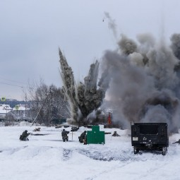 Военно-историческая реконструкция «Битва под Москвой. Контрнаступление» 2018