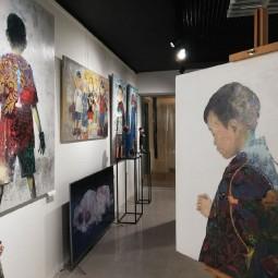 Выставка Зорикто Доржиева «XXI»