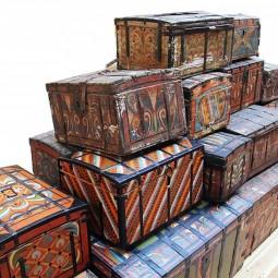 Выставка «Путешествие сундука»