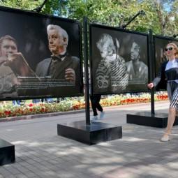 Выставка, посвященная 85-летию Олега Табакова