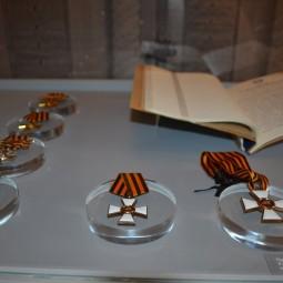 Выставка «За службу и храбрость. 250 лет ордену Св. Георгия»