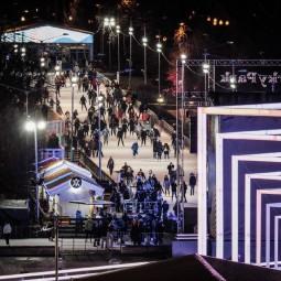 «Ночь на катке» в Парке Горького 2018