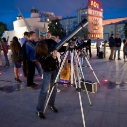 Бесплатные астрономические наблюдения в Московском Планетарии