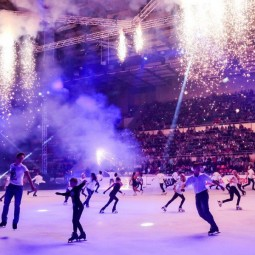 Выступления лучших фигуристов Москвы и России «Magic on ice» 2017