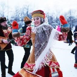 Рождество в парке «Усадьба Воронцово» 2019