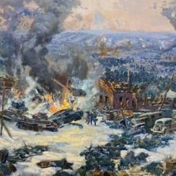 Выставка «Эхо прошедшей войны»