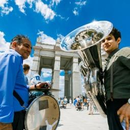 Фестиваль духовых оркестров на ВДНХ 2019