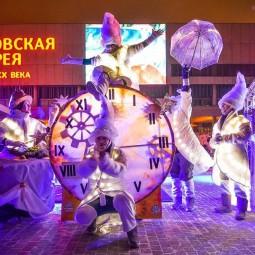 Новый год 2017 в парках Москвы