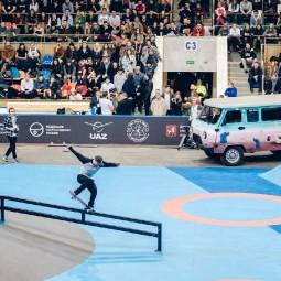 Этап кубка мира по скейтбордингу 2018